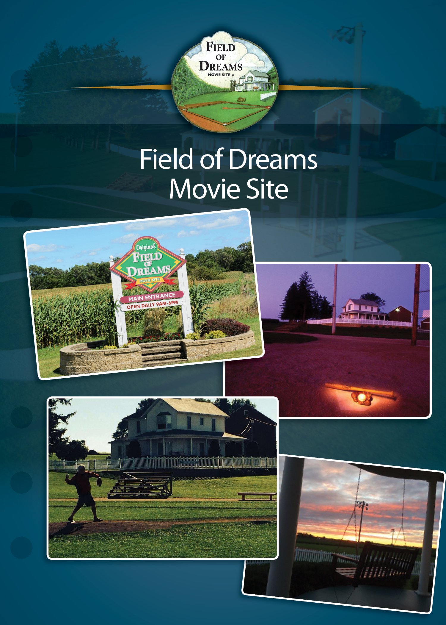 Mlb Ballpark Pass Port Field Of Dreams Movie Site